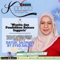 Direct English Malaysia Board Member on National Radio Talk Show
