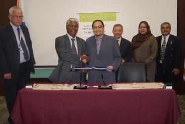 Signing of Memorandum of Agreement with MAHSA