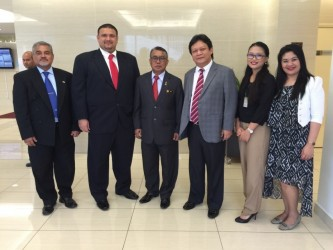 Meeting with Minister Dato Seri Ismail of the Ministry of Human Resources