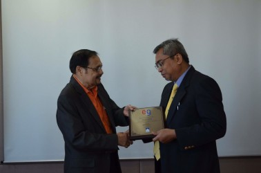 Awarding of Plaque of Accreditation to APKNS