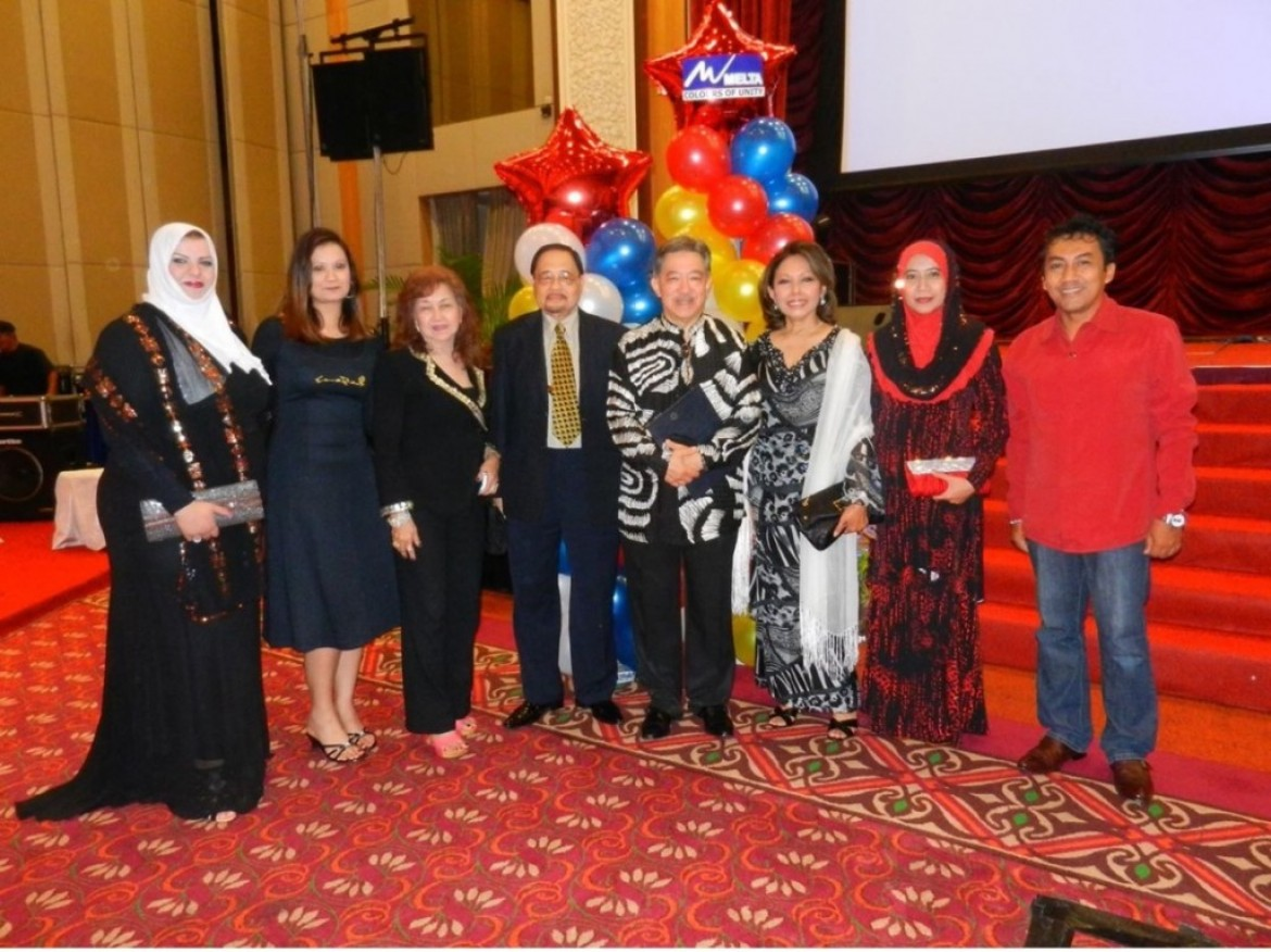 Tunku Dato Seri Iskandar and Professor Albert Ladores attended the MELTA Conference 2013
