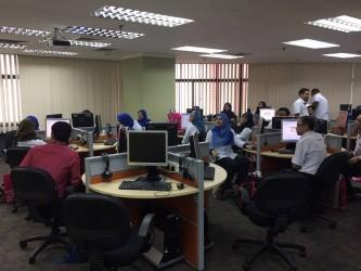 Exim Bank Direct English Training in UniRazak